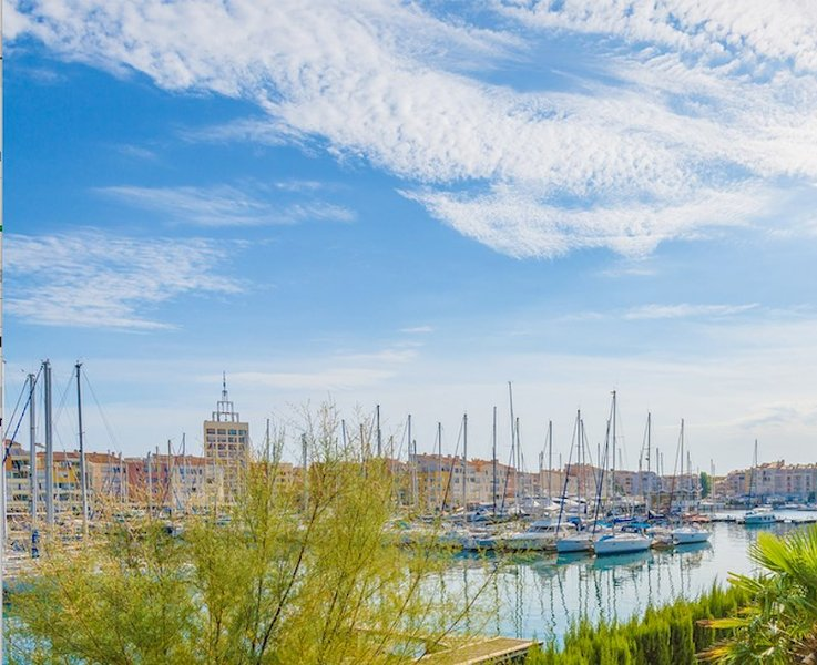 The destination of Cap d'Agde offers a warm climate year round!
