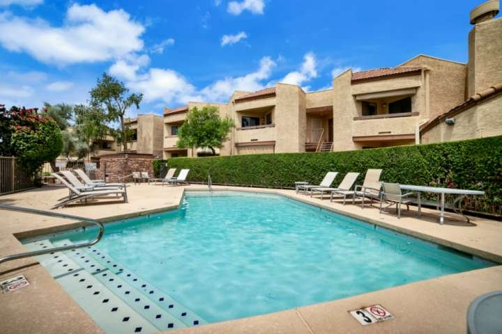 Enjoy the Community Pool, Spa & BBQ Grills Along With Outdoor Dining