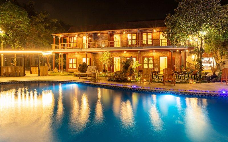 tam coc lavender homestay_Deluxe Double Room, casa vacanza a Ninh Thang