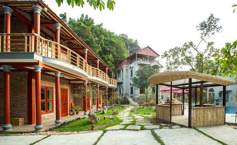Tam coc lavender homestay_Superior Family/twin  room, casa vacanza a Ninh Thang