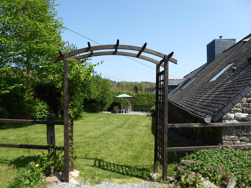 Adele's private garden