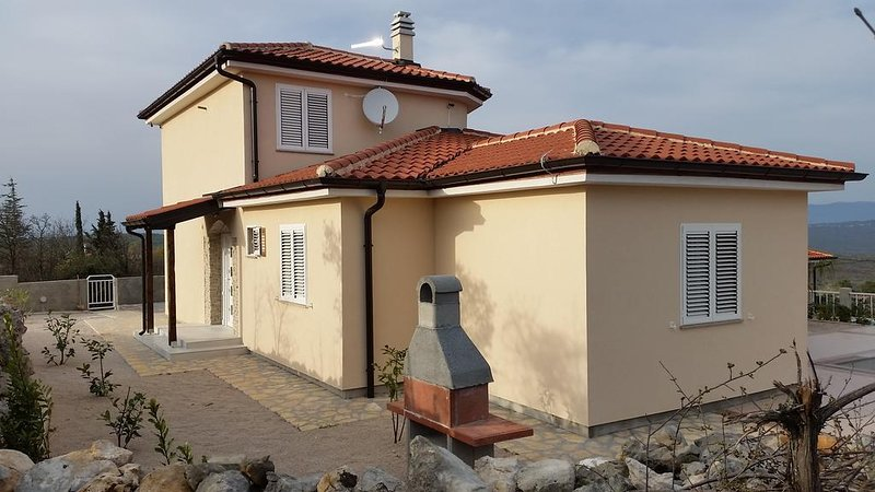 Three bedroom house Vrh, Krk (K-17073), vacation rental in Vrh