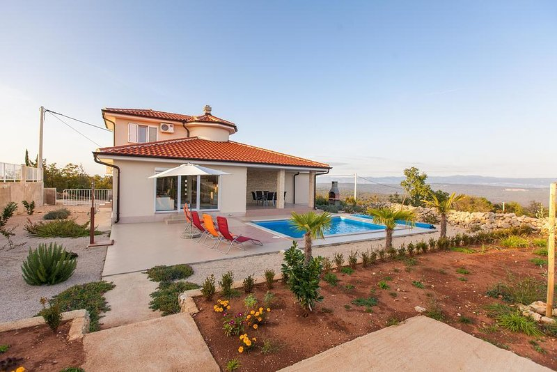 Three bedroom house Vrh, Krk (K-17081), vacation rental in Vrh