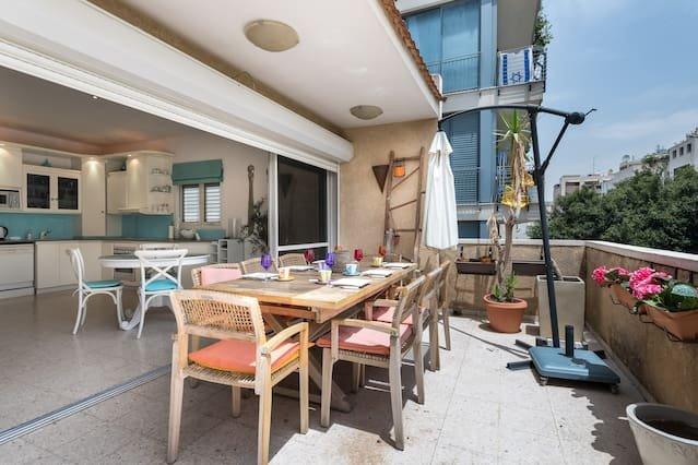 Terrasse / table à manger