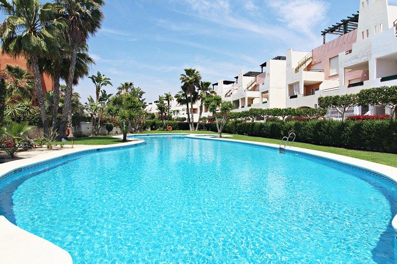Paraíso de Vera Fatu-Hiva - 100m playa, WiFi, terraza, vacation rental in Playas de Vera
