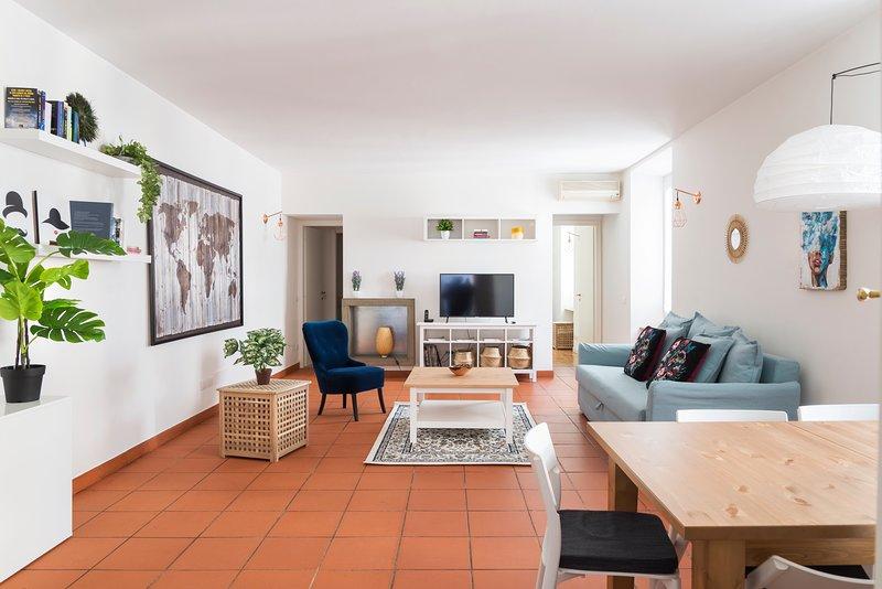Un apartamento familiar en Milán, con todos los detalles para hacer su estancia hermosa.