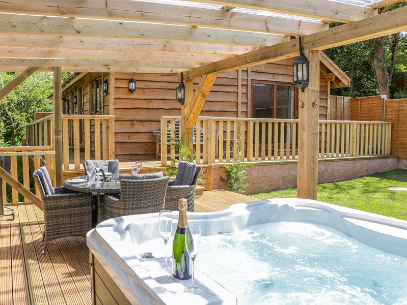 ELM LODGE, hot tub, woodburner, near Williton, holiday rental in Watchet