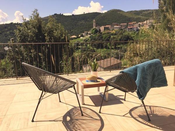 mini villa soveria, location de vacances à Vénaco