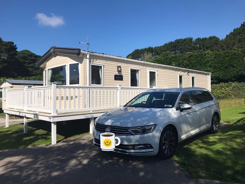 Luxury Holiday Caravan Home, holiday rental in Newquay