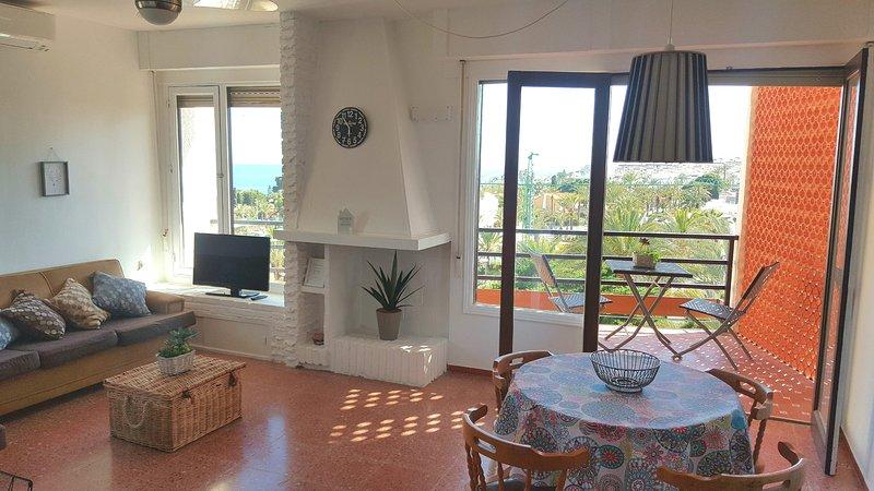 Magnificas vistas apartamento WIFI gratis, alquiler vacacional en Rágol