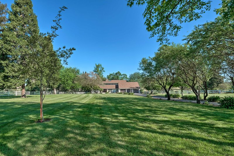 This home is quietly tucked away, but close to many outdoor activities.