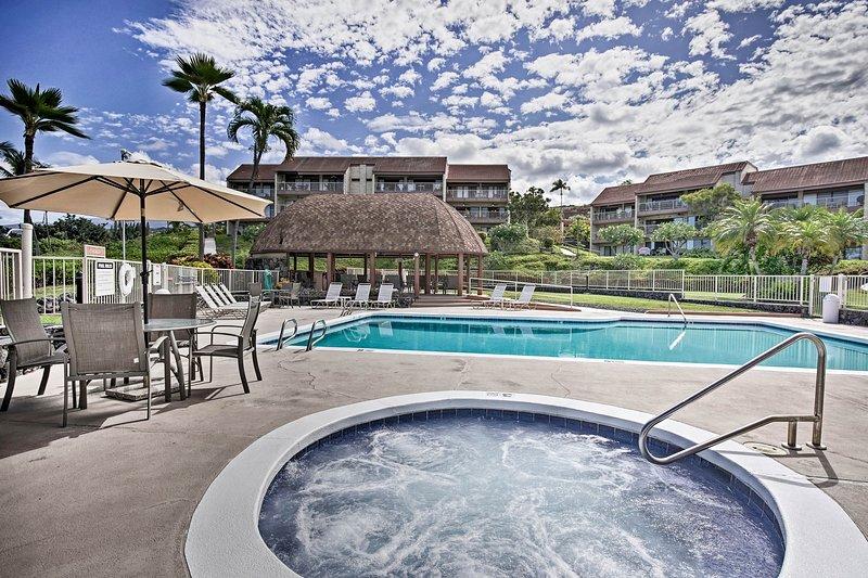 """Este alquiler de vacaciones ofrece a los huéspedes la opción """"piscina o playa?"""""""