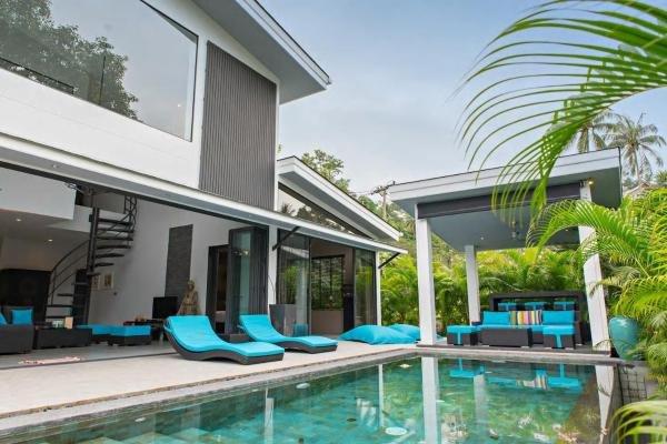 Yin Kuo Villa 'Villa Design+PrivatePool-NearBeach, vakantiewoning in Ang Thong
