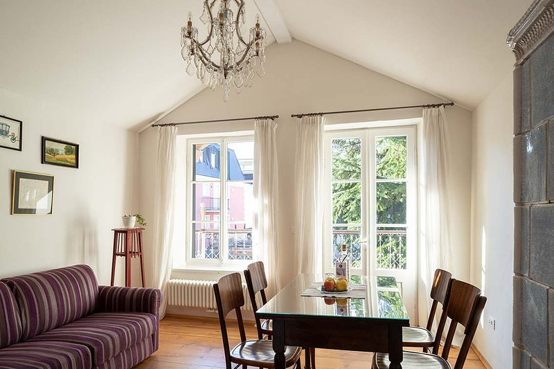 Villa Bergmann Suites-in der Altstadt von Meran, vacation rental in Marlengo