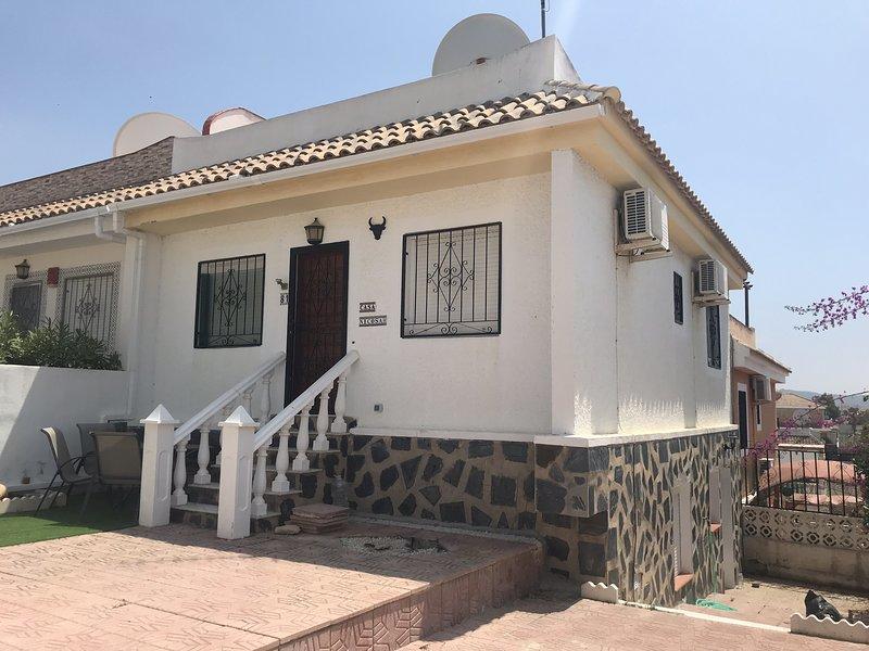 Casa Nicosah, vacation rental in Mazarron