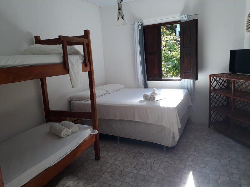 Quarto Soul 4 - 350 metros da Primeira Praia Quarto Soul 4 - Summer Staying, vacation rental in Taperoa