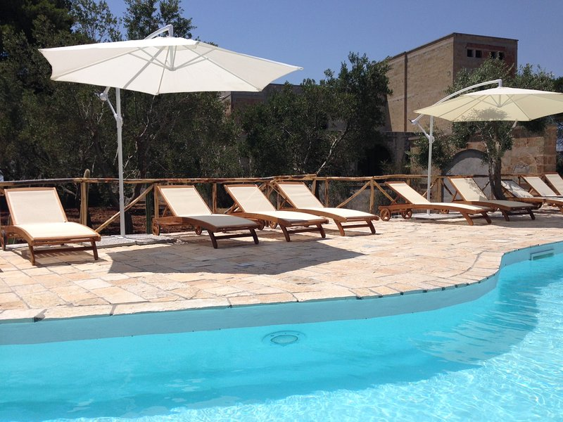 AMAZING COUNTRY-HOUSE WITH SWIMMING POOL 10 MINUTES DRIVING TO THE SEA, holiday rental in Miggiano