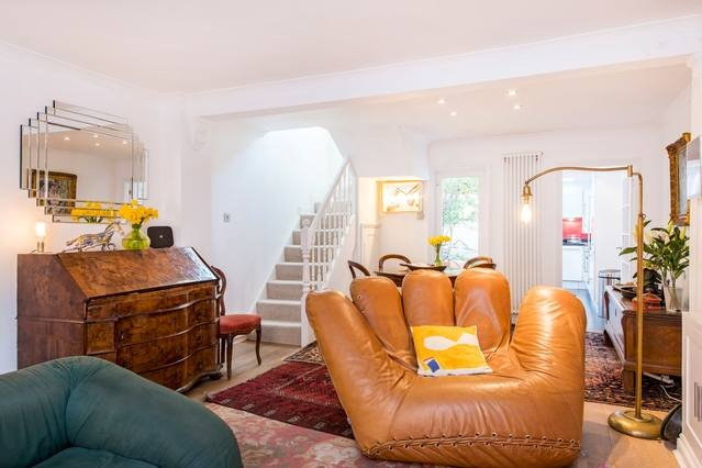 Fun and quirky sitting room