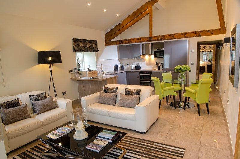 Contemporary Barn Conversion in Stunning Setting, alquiler vacacional en Lupton