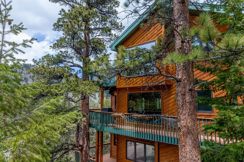 [New! June 2019] Rocky Mtn Natl Park Luxury Vacation Rental. Views & River!, vacation rental in Estes Park