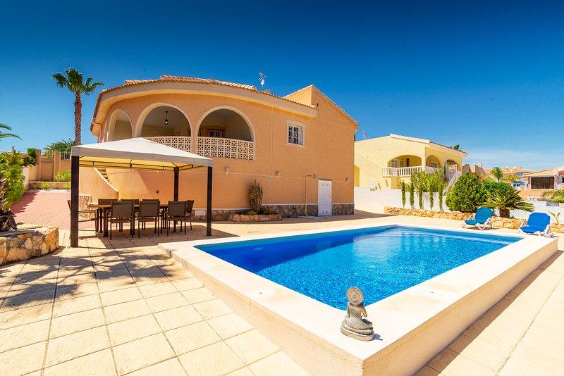 Villa Isla Lanzarote with Private Pool - C. Quesada - Rojales - Costa Blanca, aluguéis de temporada em Ciudad Quesada