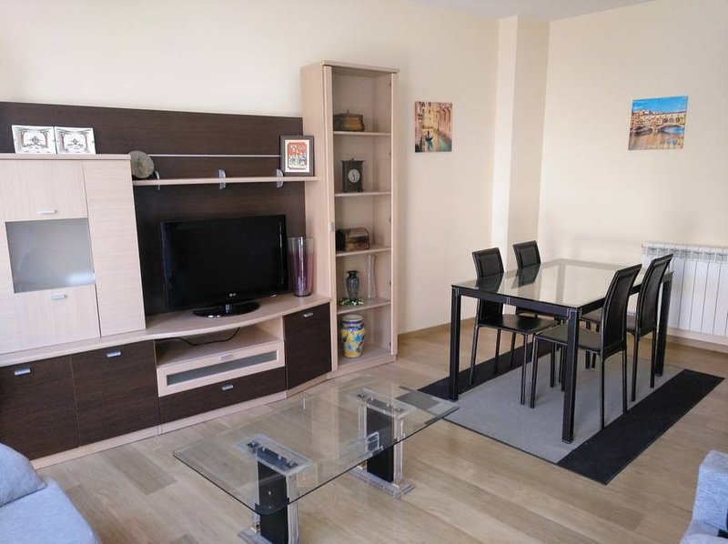 Beautiful apt with balcony, holiday rental in San Asensio