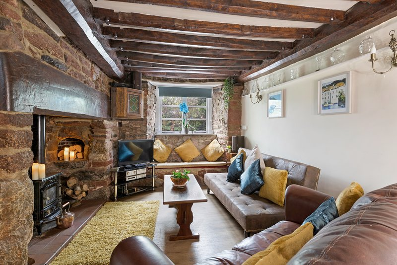Thorn Cottage. 300 yr old cottage in South Devon near beaches and moors, holiday rental in Newton Abbot