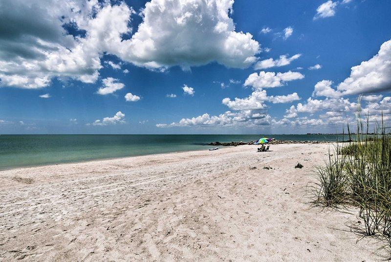 Non vorrai mai lasciare questo rifugio sulla spiaggia!