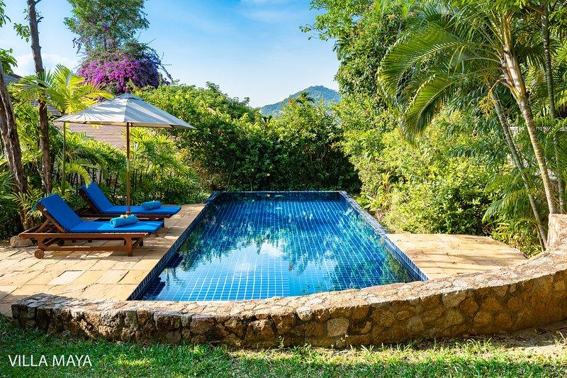 Villa Maya 3bd pool villa With Garden 100% private, vacation rental in Choeng Mon