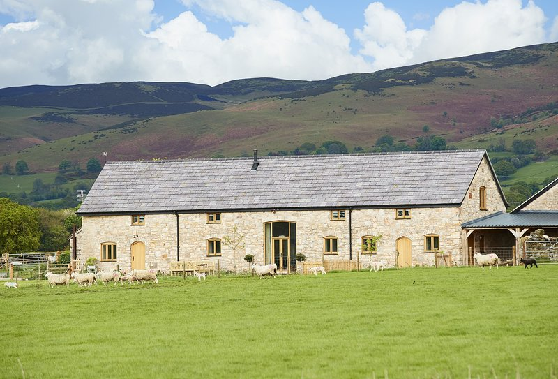 The Longbarn at Caerfallen, holiday rental in Pentre Llanrhaeadr