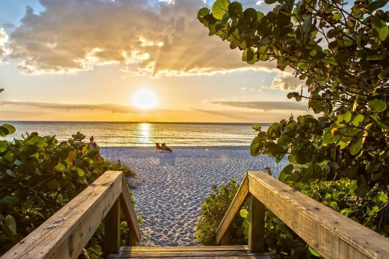 Sunsets over the Gulf of Mexico are one of the great joys of visiting Florida.