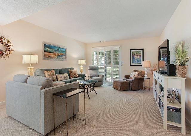Courtside 34 - 2 bd - Ground Floor- Close to the Beach, alquiler de vacaciones en Hilton Head