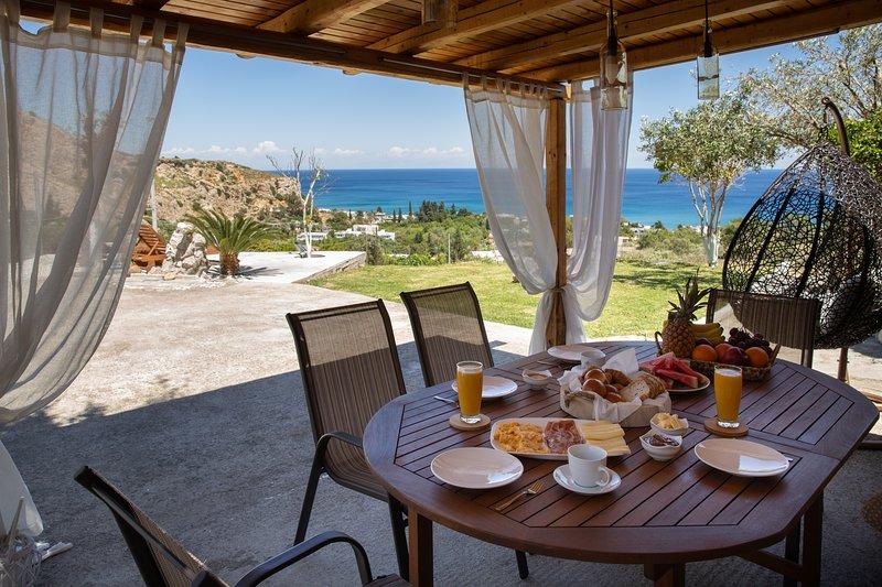 Blue View Stegna House, location de vacances à Stegna