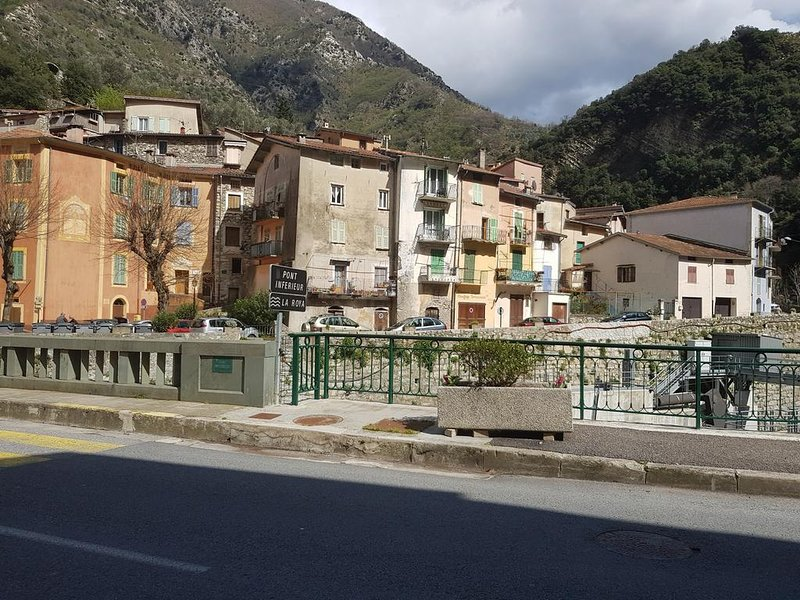Appt Chez Suzanne, village Breil sur Roya, holiday rental in Fontan