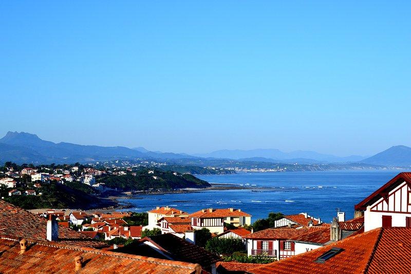 Beautiful Bidart is wonderfully located near Spain and Biarritz.