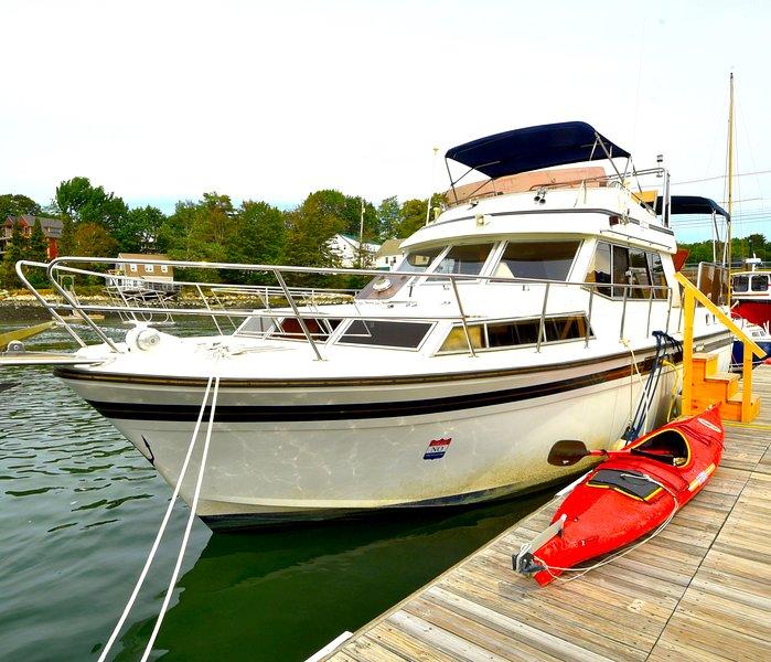 Maine Bed & Boat, NEBI, aluguéis de temporada em North Edgecomb