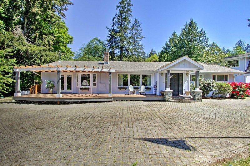 Réservez cette superbe escapade pour votre prochaine retraite à Puget Sound!