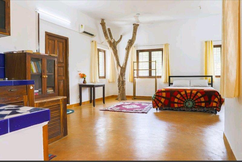 Villa Aurora, Auroville, holiday rental in Kottakuppam