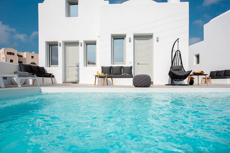 Luxury Complex Hotel Apartments, location de vacances à Vothonas