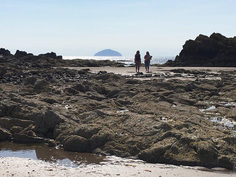 Explore the coastline south of Ayr: Dunure, Culzean, Maidens, Turnberry
