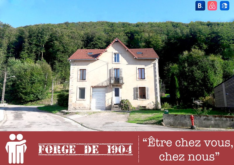 Ancienne Forge de 1904, vacation rental in Aillevillers-et-Lyaumont