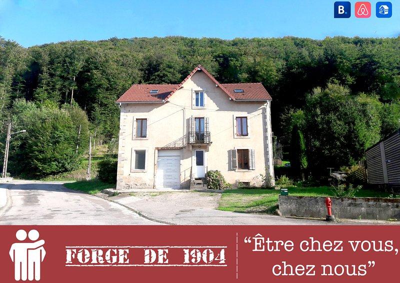 Ancienne Forge de 1904, location de vacances à Saint-Loup-sur-Semouse
