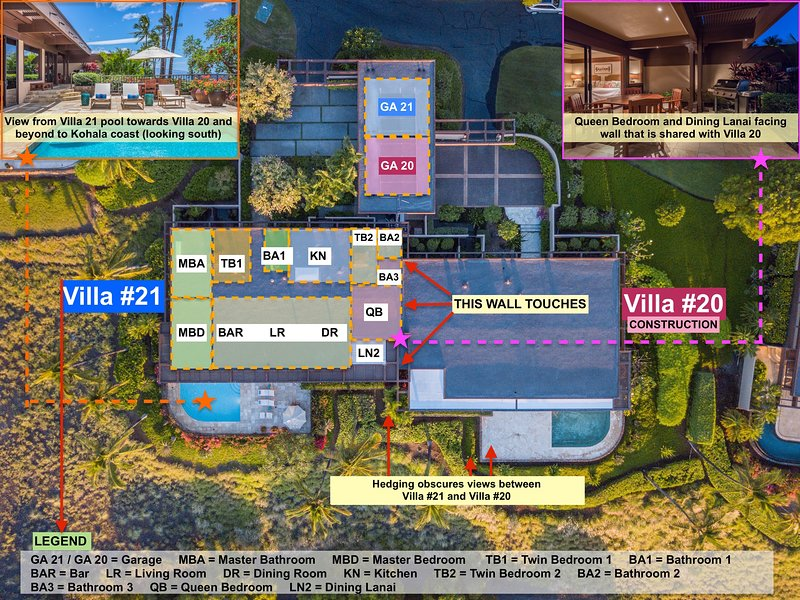 4BD Villa at Mauna Kea Resort #21 - Private Pool & Ocean