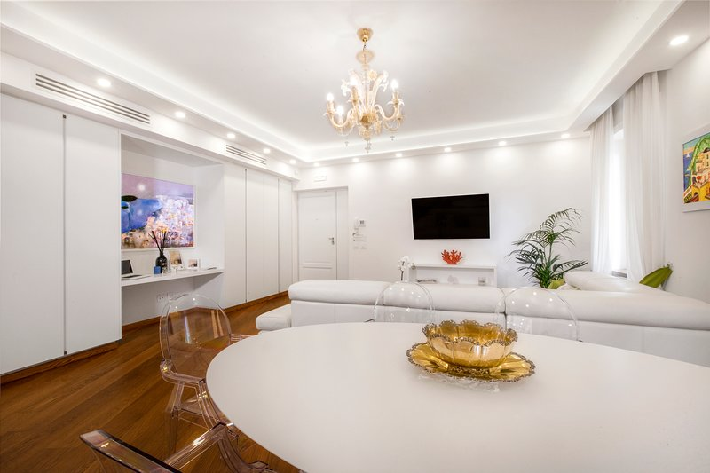 living room con Tv LG 46' HD in 3D