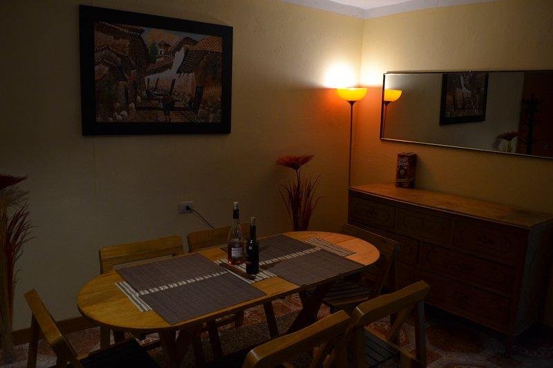 departamento sweet home, holiday rental in Lamay