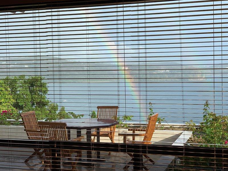 Cliff lounge open deck over looking Ocean