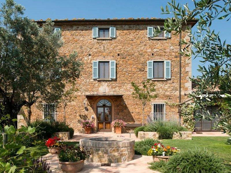 Collacchia Villa Sleeps 21 with Pool Air Con and WiFi - 5252032, location de vacances à Ribolla