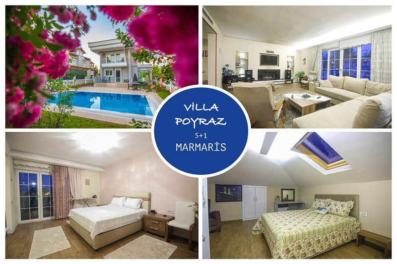 Villa Poyraz Daily Weekly Rentals, holiday rental in Marmaris