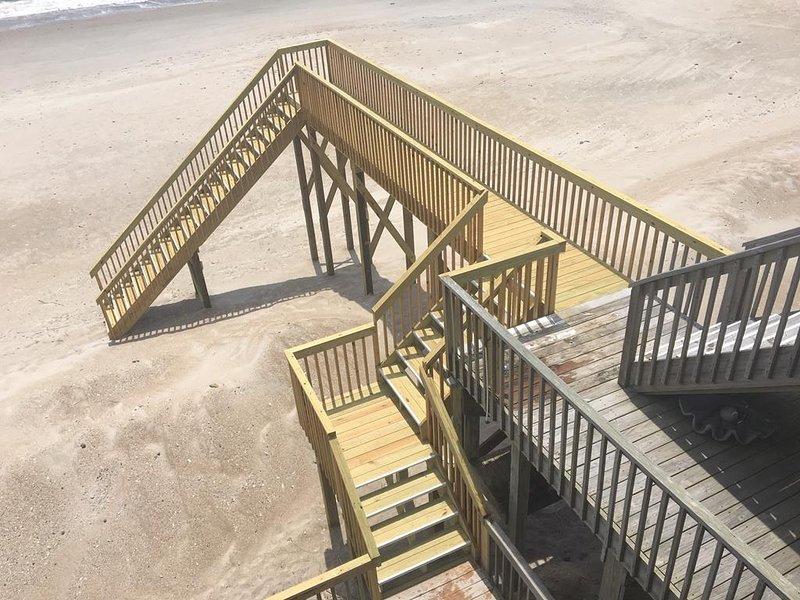 Nuevo acceso a la playa