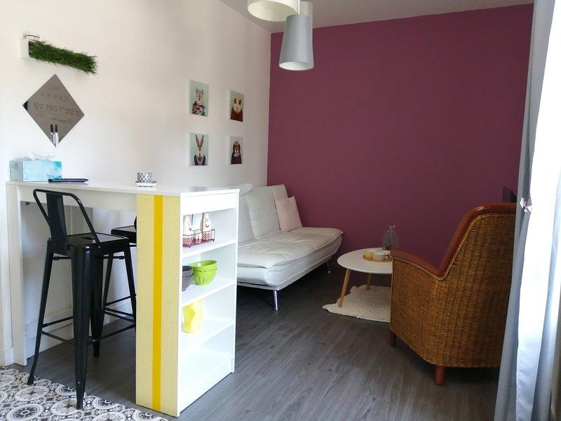 L'appartement de Malo, location de vacances à Plérin